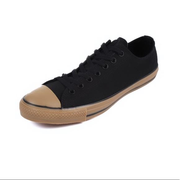 385d79fdcd5 CONVERSE ChuckTaylor AllStar Black GumBottom Shoes